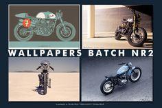 A terrific set of four images from Deus Ex Machina, Australia's top custom motorcycle builder.
