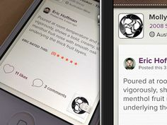 Sipp app from Eric Hoffman. Nice balance between skeuomorphic and machine. Very curious to see the rest of the UI.