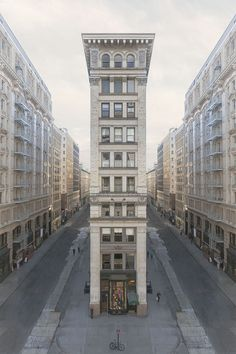 """Dreamy Photos of New York Architecture Capture the """"Secret Lives of Buildings"""" - My Modern Met"""