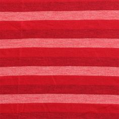 Red Tonal Stripe Cotton Jersey Knit Fabric - A top quality cotton jersey knit in a red tonal stripe.  Fabric is a light to medium weight with a really smooth hand and a nice stretch.  Stripes measure 1/2