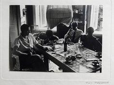 Крученых читает свои стихи, фото Родченко