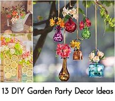 13 Creative DIY Garden Party Decor Ideas
