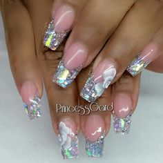 3d hologram nails