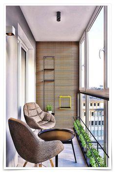 One Bedroom Apartment Interior Design Idea. One Bedroom Apartment Interior Design Idea. Modern Apartment Design, Modern Interior Design, Home Design, Design Ideas, Modern Decor, Design City, Design Design, Small Balcony Decor, Small Balcony Design