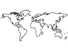 world map tattoo | Tumblr