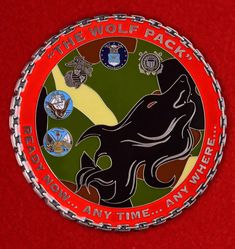 Challenge coin Navy Cargo Handling Battalion Five Air ...