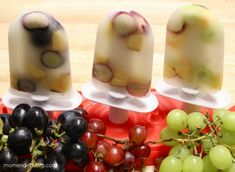 Fresh & Fruity Grape Popsicles