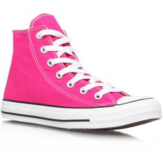 Converse Ct Hi Seas Pink found on Polyvore