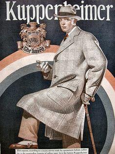 Djavan-a-don — Joseph Leyendecker Mode Vintage, Vintage Ads, 1940s Mens Fashion, Suit Fashion, Jc Leyendecker, American Illustration, Art Deco Posters, Ad Art, Norman Rockwell