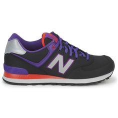 Discount New Balance 574 Men's Black Purple Red 574 http://www.new-balance-factory-store.com/new-balance-574-mens-black-purple-red-574-p-99.html