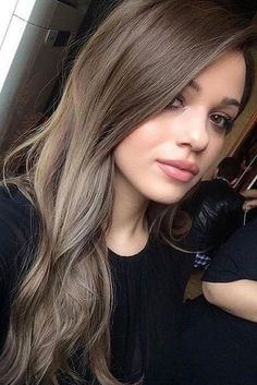 Hair color Ash brown hair, Ash brown hair color, Hair styles Brown hair colors, Hair styles - Bright and Beautiful Hair Color Inspiration For Summer 2018 - Ash Brown Hair Color, Ash Hair, Brown Blonde Hair, Hair Color And Cut, Ombre Hair, Balayage Hair, Black Hair, Cool Tone Brown Hair, Medium Ash Brown Hair