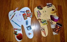 Tooth Craft Made Creative With Old And Recycled Magazines