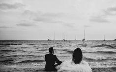 beach wedding. Dos en la Pasarela: bodas