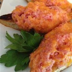 Broiled SPAM(R) and Cheese Open Face Sandwiches - Allrecipes.com