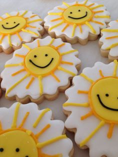 Sunshine Cookies by bakesaleNC on Etsy, $36.00