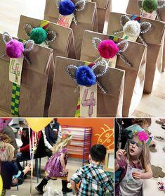 art studio birthday party theme - creative crafts for kids