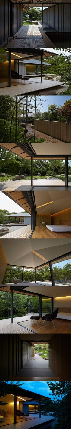 kengo kuma crafts single-storey PC garden house in japan