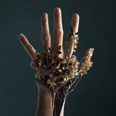 Floral hand by Xelis