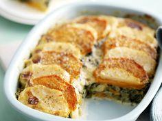 creamed spinach and kumara