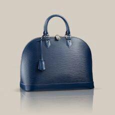 Louison Vuitton: Alma GM in Indigo