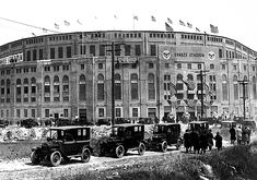 vintage Yankee Stadium 1931 . nyc