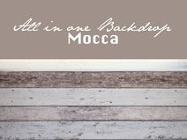 all-in-one backdrop *mocca* 140cm x280cm