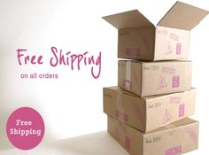 #free #shipping On all Orders