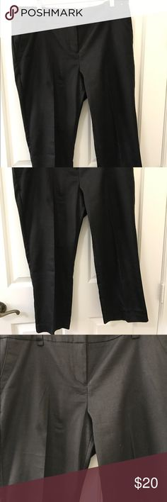New York & Company Black Dress Capris New York & Company Black Dress Capris size 14, NWOT very pretty! New York & Company Pants Capris