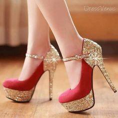red stiletto high heels pumps women shoes fashion http://www.womans-heaven.com/red-heels-14/