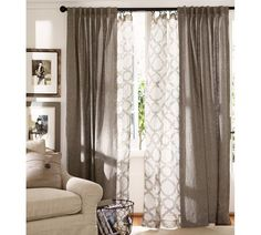 Kendra & Emery Drapes from Pottery Barn