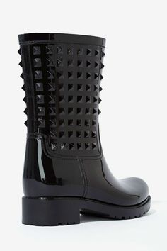 Reagan Tonal Stud Boot | Shop Shoes at Nasty Gal