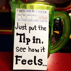 funny tip jars, dirty joke jar Funny Tip Jars, Funny Tips, Earn Money From Home, Way To Make Money, How To Make, Golf Quotes, Funny Quotes, Bartending Tips, Websites Like Etsy