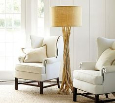 Driftwood Floor Lamp #potterybarn