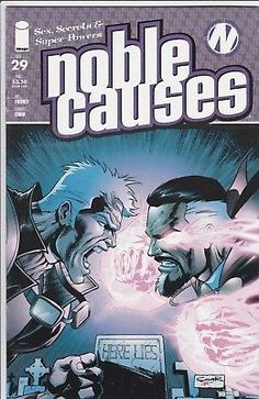 NOBLE CAUSES #29 Image Comics 2nd series Sex Secrets and Super Powers