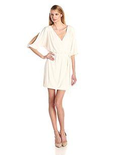 Jessica Simpson Women's Long Sleve V-Neck Wrap Dress $98.00 • Shopping Cheap Online