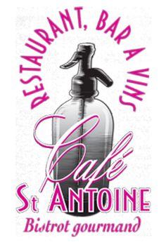 NOTRE CARTE | CAFE SAINT ANTOINE - RESTAURANT ANNECY - HAUTE-SAVOIE Bern, Zurich, Soap, Restaurant, Bottle, Diner Restaurant, Flask, Restaurants, Bar Soap
