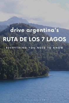 A complete road trip guide to the Ruta de los 7 Lagos in Patagonia, Argentina's seven lakes route from San Martin de los Andes to Villa la Angostura and Bariloche. Argentina Travel, Peru Travel, Asia Travel, South America Destinations, South America Travel, Ushuaia, Sur Chile, Costa, In Patagonia