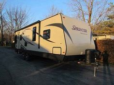 2016 New Keystone Sprinter Campfire 27RL Travel Trailer in New York NY.Recreational Vehicle, rv, Front Queen, Rear Living Room, 2 Rockers, Corner Shower, Power Jacks, Remote Control, 7 cu. ft. Refrigerator, Power Awning w/ LED's, Great Unit!