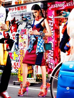 visual optimism; fashion editorials, shows, campaigns & more!: street art: isabella melo by troyt coburn for marie claire australia october ...