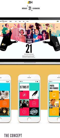 21st century - 21 classics on Web Design Served