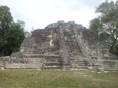 Mayan Ruins Belize- been here, climbed this, got vertigo, had to be helped down. Haha.