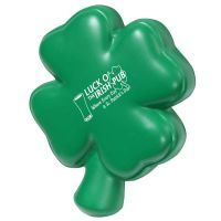 4 Leaf Clover Stress Shape,  St Patrick's Day Stress Toys. Personalized Stress Balls, Factory Direct at the Lowest Pricing!  We manufacture custom stress balls and promotional stress toys. Stress relievers customized with your logo. Promo stress ball shapes and squeezies in hundreds of shapes! Our logo stress balls have a quick turn-around time so you can have a colorful, eye-catching promotional product delivered in time for your next big event! www.abetteridea.com