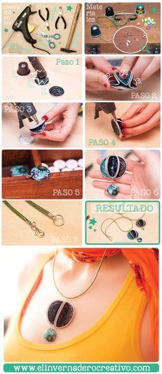 Jewelry & Watches for sale Wire Jewelry, Jewelry Crafts, Handmade Jewelry, Coffee Accessories, Coffee Pods, Bijoux Diy, Jewelry Making, Nescafe, Tabata