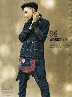 Sen Mitsuji / Male Models, Denim