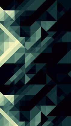 Dark Polygon iPhone5壁紙