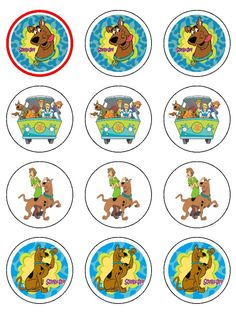 Scooby-Doo BCI on 4x6