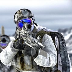 Fun fact: SEAL team two is the only team with full artic warfare capabilities