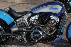 Dirty Bird Concepts Custom 2015 Indian Scout Photos - Motorcycle USA