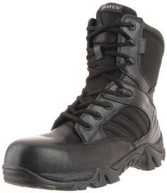 Bates Men's GX-8 GTX Comp Toe Side Zip Work Boot