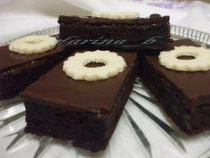 Cuketový koláč extra - recept | Varecha.sk Cupcake Cakes, Cupcakes, Brownies, Baking, Sweet, Desserts, Food, Basket, Cake Brownies